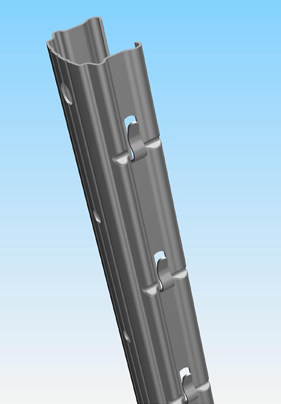 Pali per vigneti acciaio inox accessori per vigna for Pali in plastica per vigneto